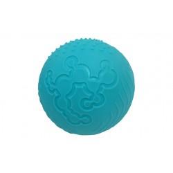 Teksturowa niebieska piłka
