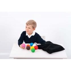 Zestaw 18 sensorycznych piłek