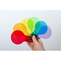 Półprzezroczyste kolorowe...