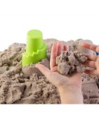 Dotyk (masy, gluty, piaski kinetyczne i inne)